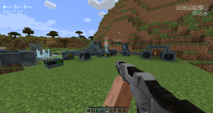 Phaser Rifle in First Person Mode